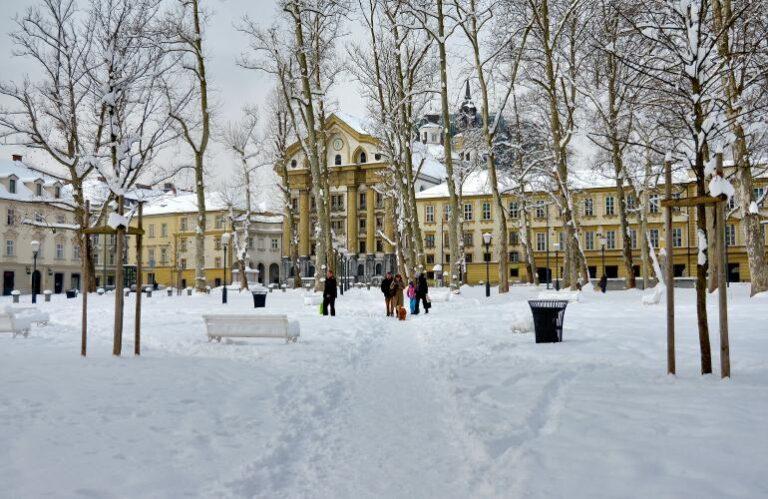 9. Kongresni trg u snegu ( Nea Culpa )
